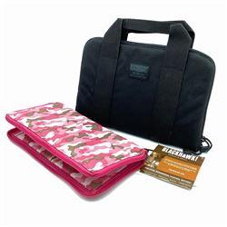 BlackHawk Gun Bag / Pistol Pouch 12 x 8 & Vism Pink Camo Pistol Case