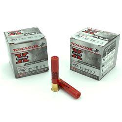 """Winchester Super-X .410 Gauge, 2.5"""", #6 Shot ammunition, 50 Rounds"""