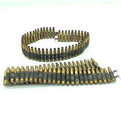 1 Belt of Spent .223 Remington Empty Casings