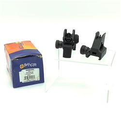 Sun Optics Front & Rear Adjustable Iron Sights