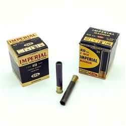 CIL Imperial .410 Gauge Ammunition, 22 Cases and 25 Rounds
