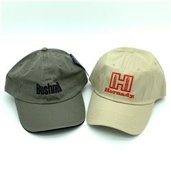 Bushnell Hat - Green & Hornady Hat - Tan