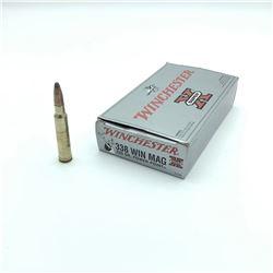 Winchester Super-X 338 Win Mag, 200 Grain Power Point Ammunition, 19 Rounds