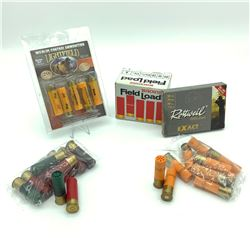 Assorted 20 Gauge Ammunition, 48 Rounds and 16 Gauge Ammunition, 11 Rounds
