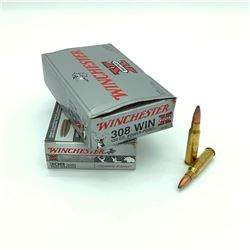 Winchester Super-X 308 Winchester, 150 Grain Power Point ammunition, 40 Rounds