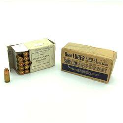 CIL Dominion 9mm 124 Grain Full Metal Jacket Ammunition, 40 Rounds