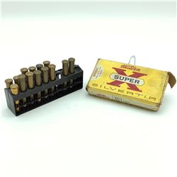 Western Super-X Silver Tip 303 Savage, 190 Grain, 20 Rounds, Loose 300 Savage, 11 Rounds