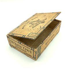 White Owl Brand Cigar Box, Factory 11, Port 50 - E