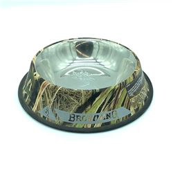 Browning Camo Dog Bowl
