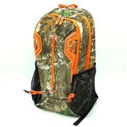 Camo / Hunter Orange BackPack