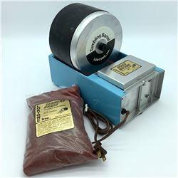 "Lortone Brass Machine Case Tumbler with ""Gunners Brass"" Precision Case Media"