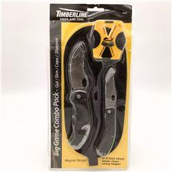 Timberline Big Game Combo Pack Knife Set
