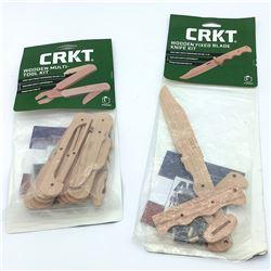 CRKT Wooden knife & Multi-tool Build Kit