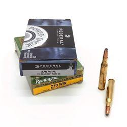 270 Winchester ammunition, 33 Rounds