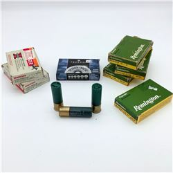 Assorted 12ga Ammunition, 30 Rounds - Remington, Winchester & Federal