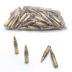 Loose 7.62 Nato Full Metal Jacket Ammunition, Approx 105 Rounds