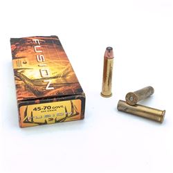 Federal Fusion 45-70 Gov't, 300 Grain, 14 Rounds, 6 Casings