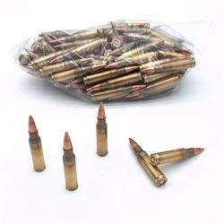 Loose 7.62 Nato Full Metal Jacket Ammunition, Approx 109 Rounds