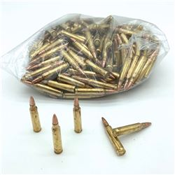 Loose 223 Rem 55 Grain, Full Metal Jacket Ammunition, 234 Rounds