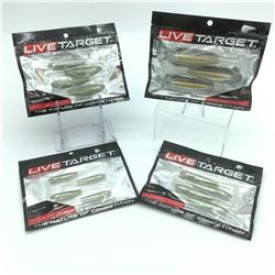 Live Target Bait - 4 Packages