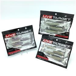 Live Target Bait - 3 Packages
