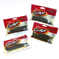 Berkley Gulp! Night Crawler - 4 Packages