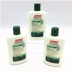 3x Coleman Insect Repellent Lotion, 30% Deet, 240ml