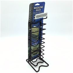 Lockdown Magazine Rack, Holds 10 Magazines