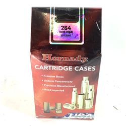 Hornady Cartridge Cases, 264 Win Mag, New.