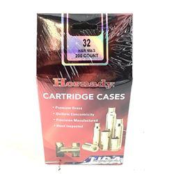 Hornady Cartridge Cases, 32 H& R Mag, New.