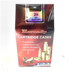 Hornady Cartridge Cases, 284 Win Mag, New.