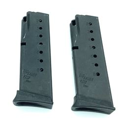 Sig Sauer P239 9mm Mags, Used.