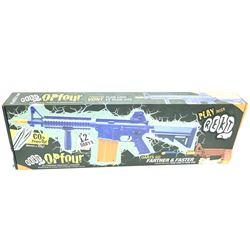 Opfour CO2 Powered, Foam Dart Gun, New.