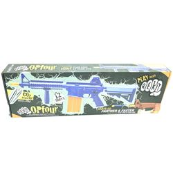 Opfour CO2 Powered, Foam Dart Gun, New.