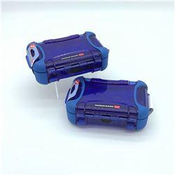 2 Nanuk Nano 320 Cases - Blue