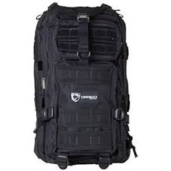 Drago Gear Black Tactical Backpack