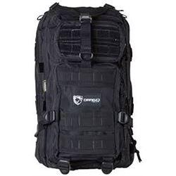 Drago Gear Black Tactical Backpack