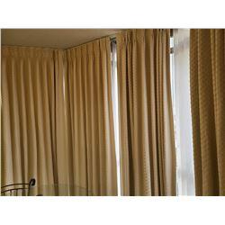 4 Blackout Curtain Panels C