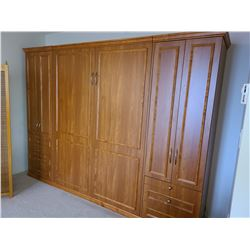 Murphy Bed in Cabinet by Instant Bedrooms