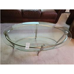 Glass top coffee table Cat B