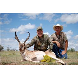 New Mexico: 2 Day 3 Night Trophy Antelope Hunt for 1 Hunter and 1 Observer