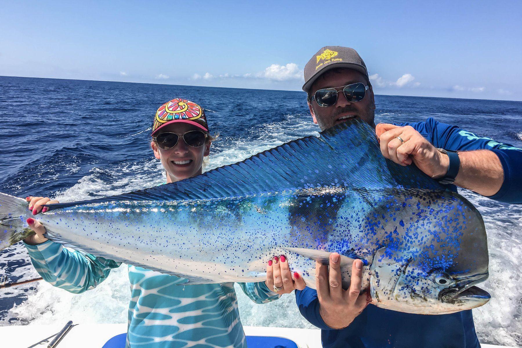 Costa Rica: 3 Day Saltwater Fishing Adventure Aboard the Dream Raiser Yacht