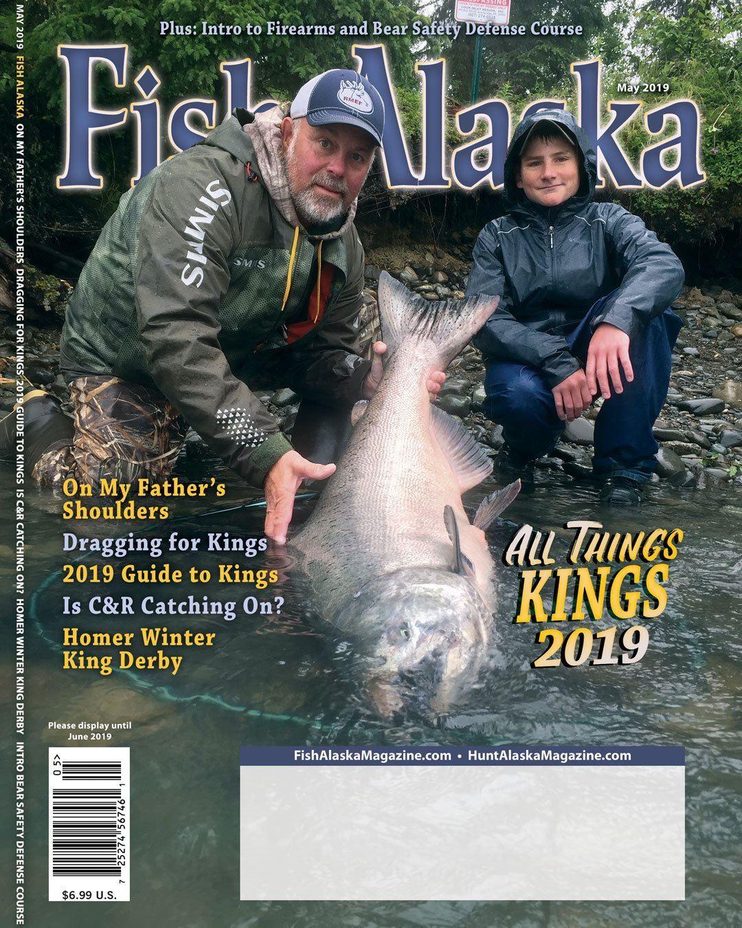 Alaska: Kenai River 2 Day of fully guided fishing trip, plus 3 Nights Vacation Rental for 4 Anglers.