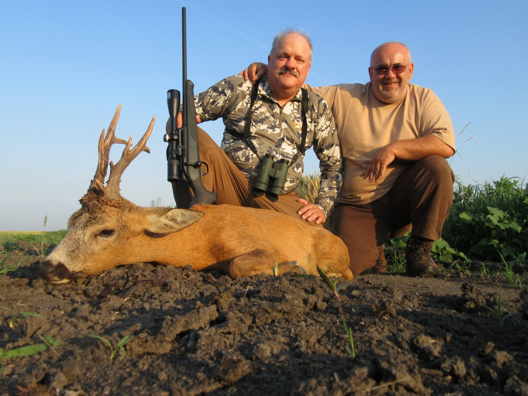 Serbia: 5 Day 6 Night Roe Deer Hunt for 1 Hunter & 1 Observer (or Two Hunters), includes 1 Roe Deer