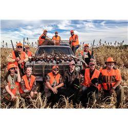 South Dakota: 3 Day 3 Night Pheasant Hunt for 4 Hunters