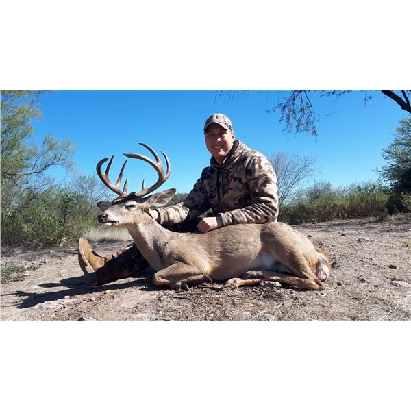 Mexico: 6 Day 7 Night Trophy Coues Deer Hunt for 2 Hunters, includes 1 Coues Deer per hunter.