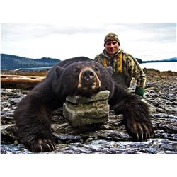 Alaska: Residents Only DIY Black Bear hunting & Salmon/Halibut fishing Package. April 27-May 4, 2021