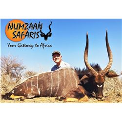 South Africa: 10-day South Africa Nyala Hunt for 2 Hunters / Includes 2 Nyala