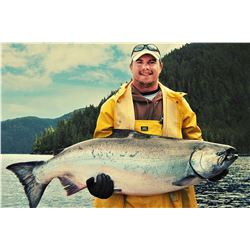 Alaska: 4 Day 3 Night Waterfall Resort All-Inclusive Fishing Package for 2 Anglers!