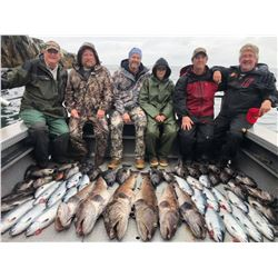 Alaska: 1 Day Fishing and 2 Nights Lodging at the Seascape Alaska Fishing Lodge for Two people